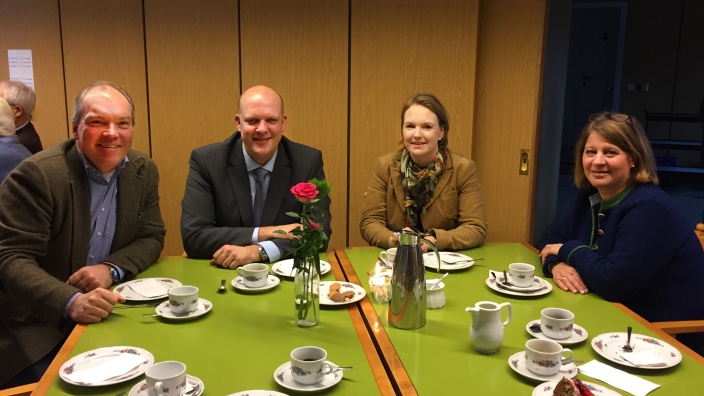 CDU Schönberg Jörg Möllenbrock Bürgermeisterkandidat Neujahrskaffee